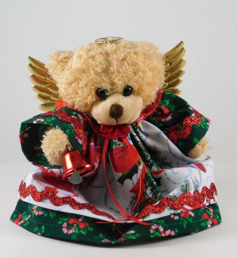 Christmas Teddy Bear Decorations Plush Bear Christmas Gift image 0