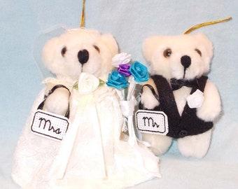 Mr and Mrs Ornaments/Wedding Ornament/Keepsake Ornament/First Christmas Ornament/Our First Christmas/Bride Groom Ornament/Christmas Ornament