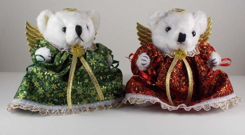 Christmas Mantle Decorations Bear Lover Gift or Decor image 0