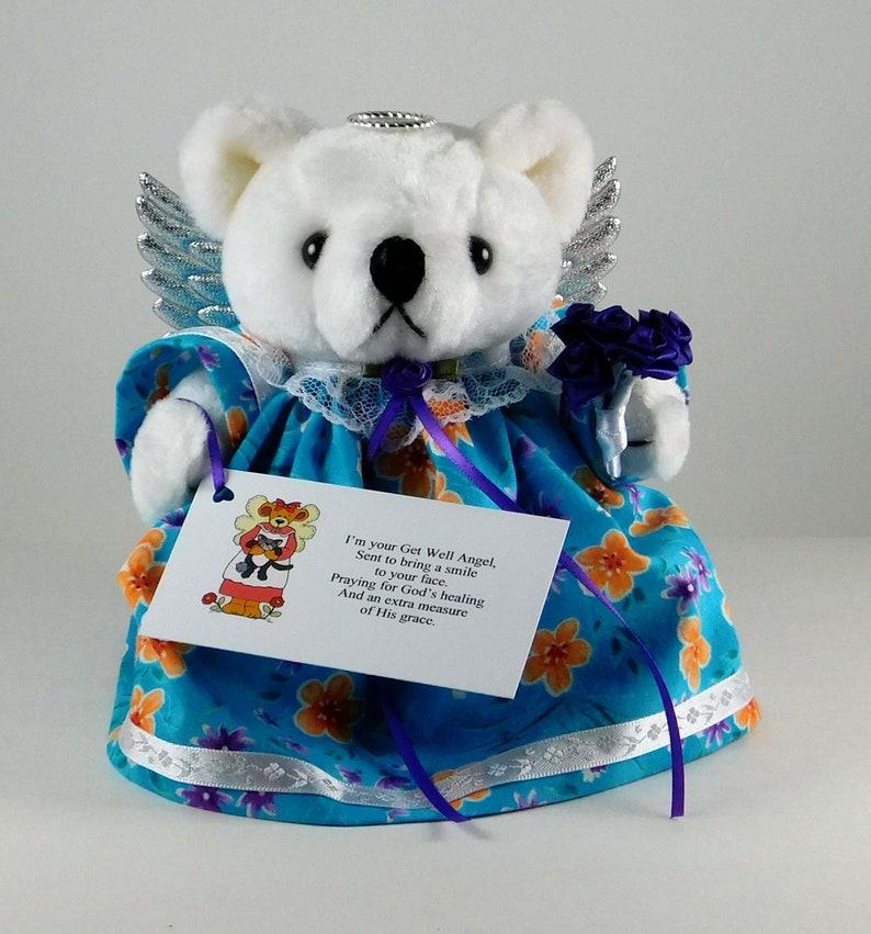 Get Better Soon Bear Teddy Bear Gift Idea for Sick Friend image 0