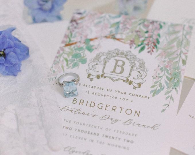 Bridgerton Suite | Brunch Invitations | Wedding Invitations