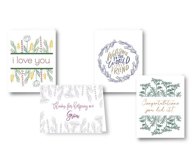 Greeting Cards | Botanical