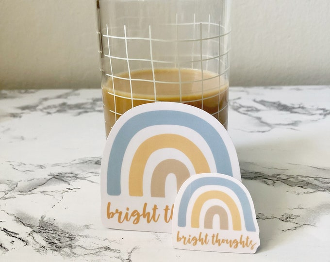 Bright Thoughts Vinyl Stickers