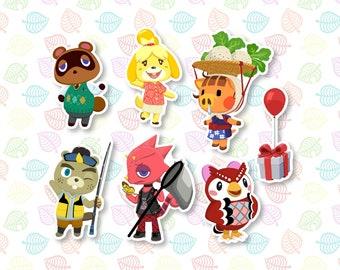 Animal Crossing Vinyl Stickers