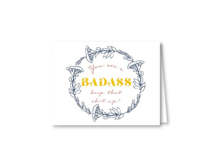 Badass & Awesome Greeting Cards | Botanical