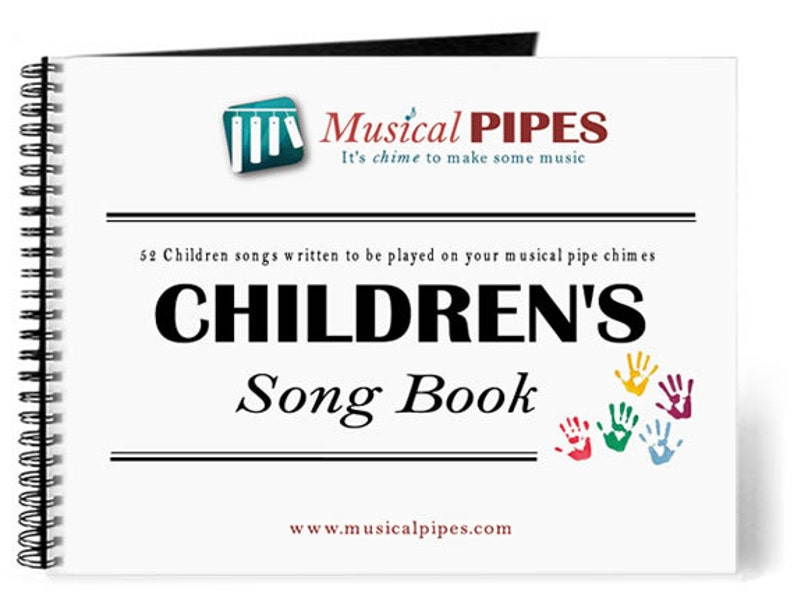 Pipe Chime Children's Music Song Book Printed image 0