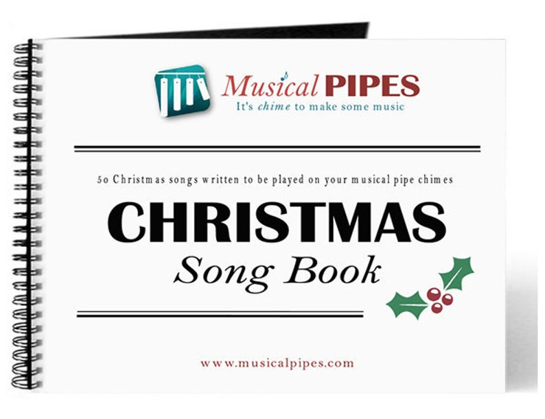 Pipe Chime Christmas Music Song Book PDF image 0