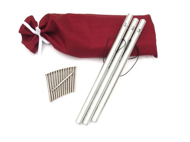 Pipe Chimes Bag Metal Strikers image 0