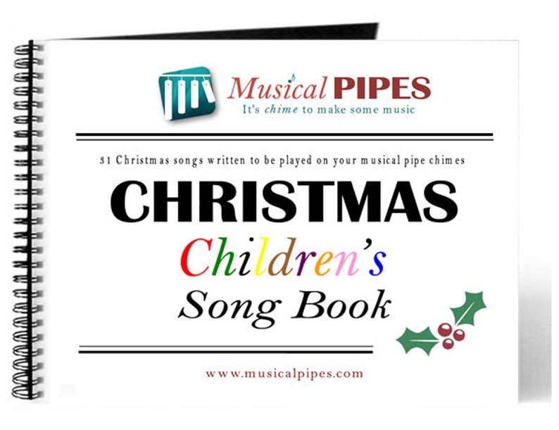 Pipe Chime Christmas Children's Music Song Book PDF image 0