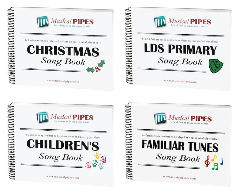 Pipe Chime Song Book Combo Pack 4 Digital Song Books image 0