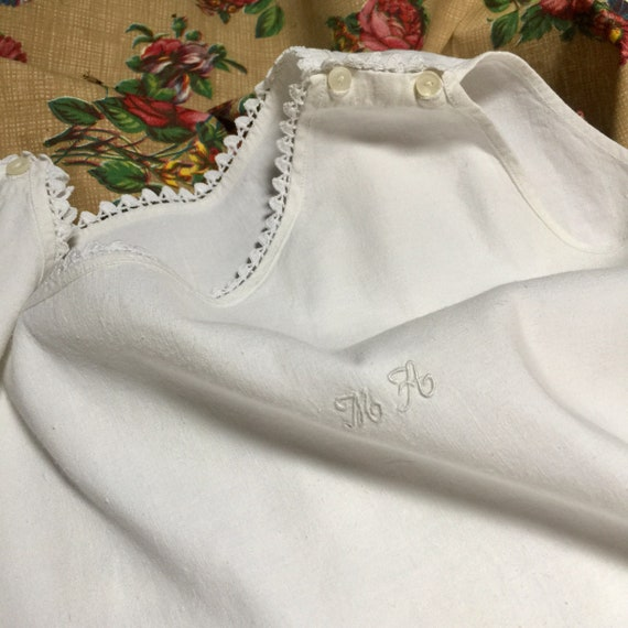 de955a6736 Gorgeous French Antique Nightdress Nightgown