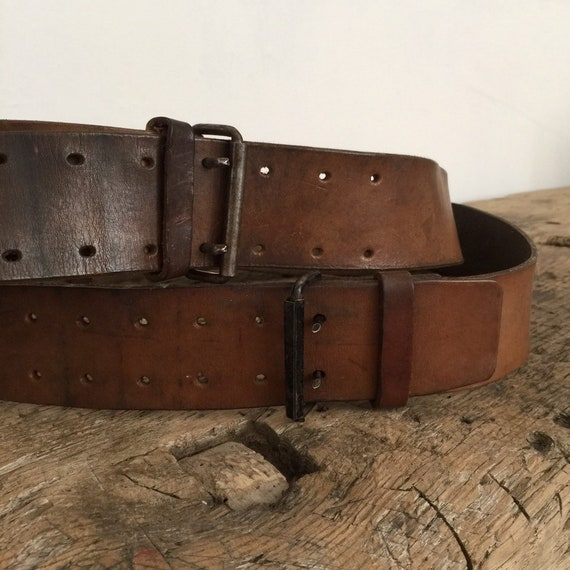 French Antique Military Belt