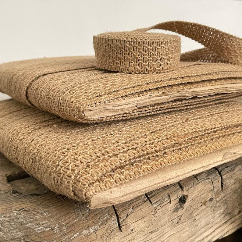 Crafting Straps 5 Meters French Vintage Burlap Trim Jute Bag Handles