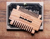 Big Red Beard Comb - Hardwood Blade Comb - Cherry