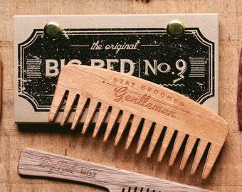 Big Red Beard Comb - Cherry No.9