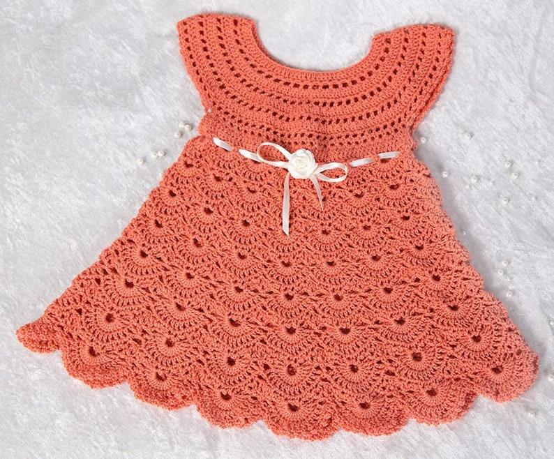 f57173fa1b11 Crochet Pattern 23Crochet Baby Dressby AsmartPattern