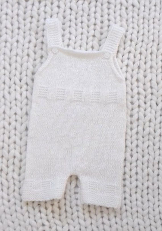 f64890473a7f Knitting Pattern 32BABY ROMPERsize 3-6 months.Baby