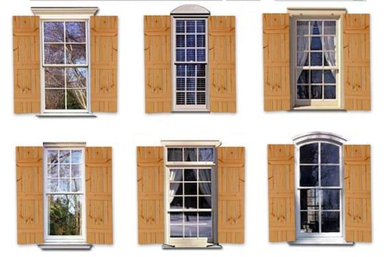 Cedar Farmhouse Style Shutters Rustic Farmhouse Window Etsy