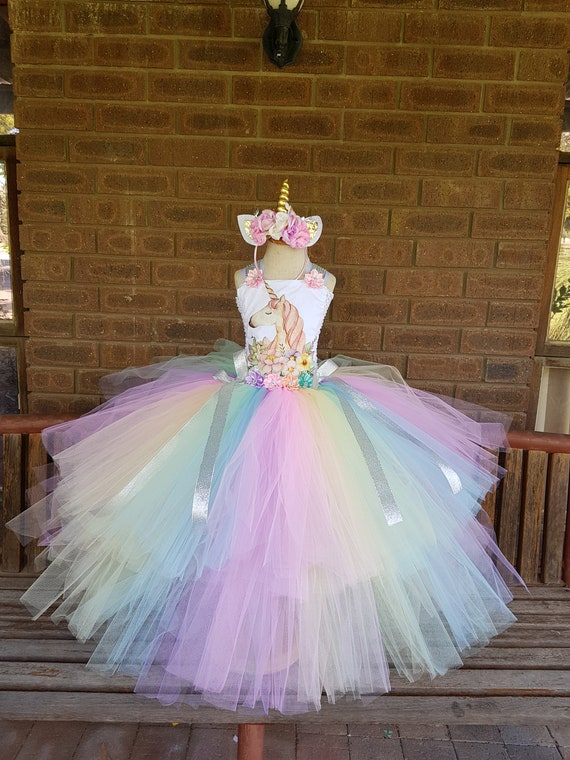 +NAME+ 9th Ninth 9 birthday Shirt  Personalized  2 Pc Tutu outfit PINK Fast shipping Unicorn Dress