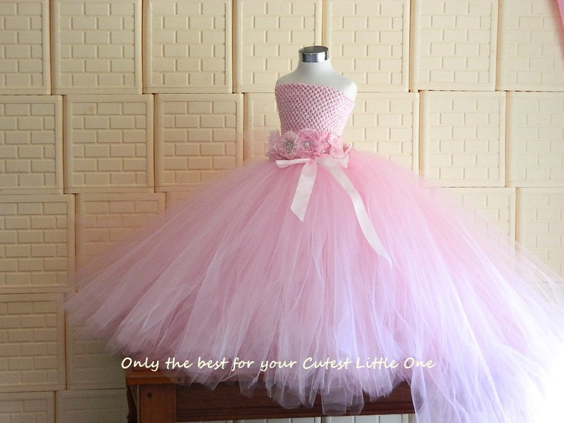 Perfect for Weddings can be made in other color Photo Shoots Beautiful Pink Princess Tutu gown