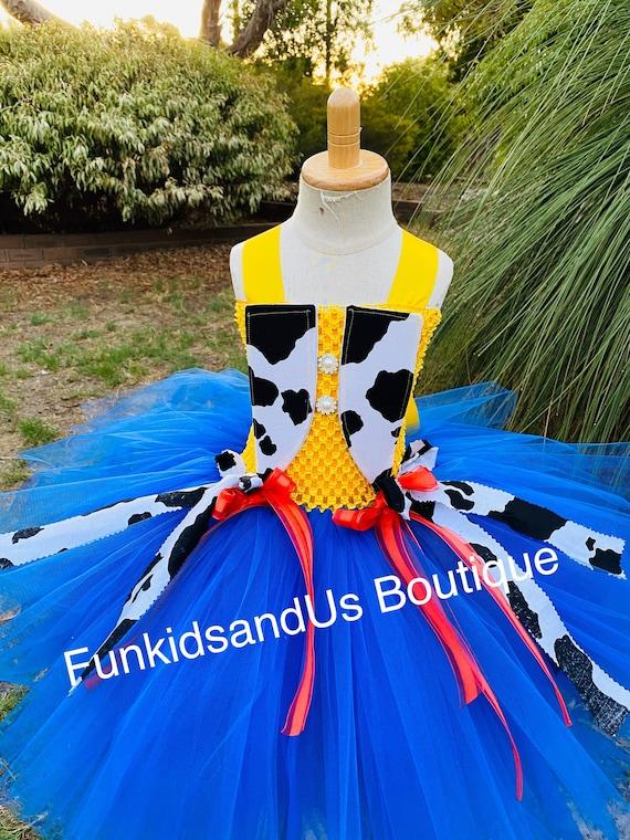 cow girl inspired tutu Cow girl Tutu Dress toy story dress inspired girl costume