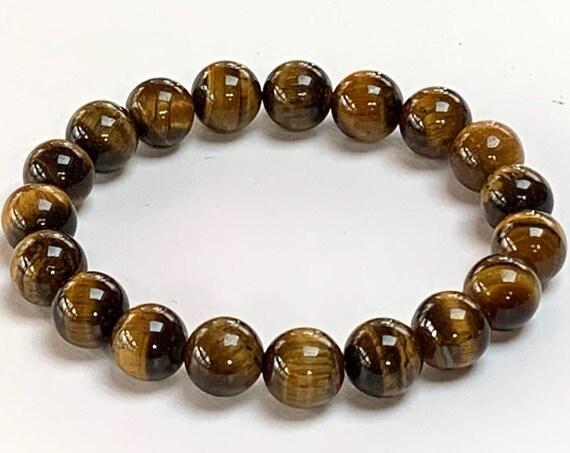 tiger eye bracelet tigers eye bracelet mens bracelet man bracelet reiki healing crystals and stones mala bracelet beaded tigers eye bracelet