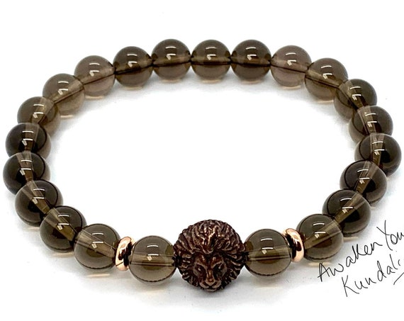 AAA Smoky Quartz  Natural Smokey Quartz Bracelet