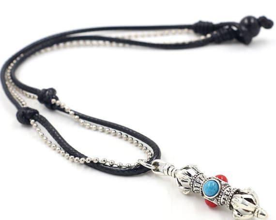 Om Mani Padme Hum Tibetan Vajra Pendant Buddhist Mantras Amulet Spiritual Symbols Religious Jewelry Buddhist Pendant,