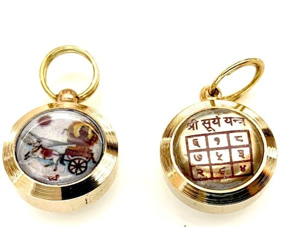 "Sri Surya Yantra kavach Amulet Sun ""Surya"" Yantra, Planetary Yantras, Vastu, Healing Arts, Spiritual Home, Sacred Geometry, Positive energy"