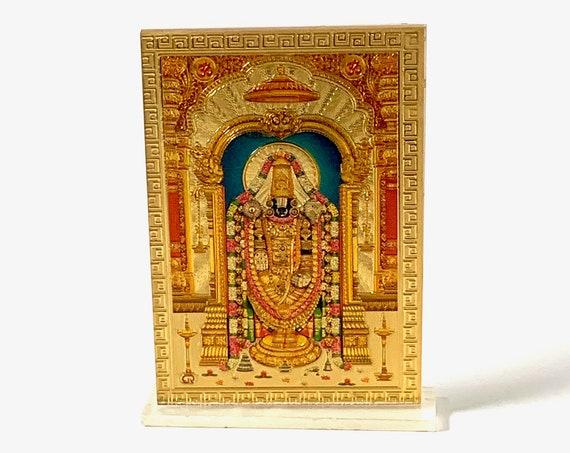 Tirupati Balaji Acrylic Photo Frame - Lord VenkateshwaraChristmas