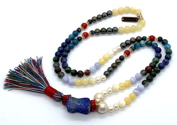 Custom order mala beads necklace for Moe