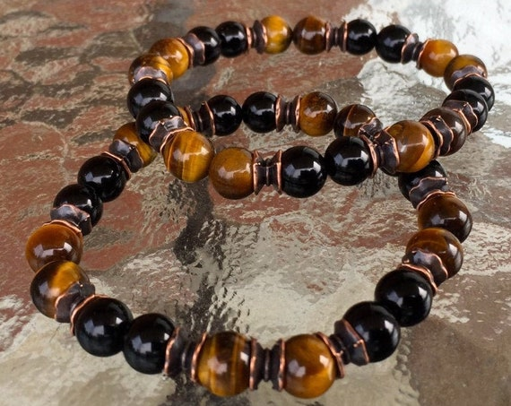 buddha bracelet tiger eye bracelet tibetan jewelry meditation yoga gifts for mom gift for sister gift for wife gift for girlfriend gifts her