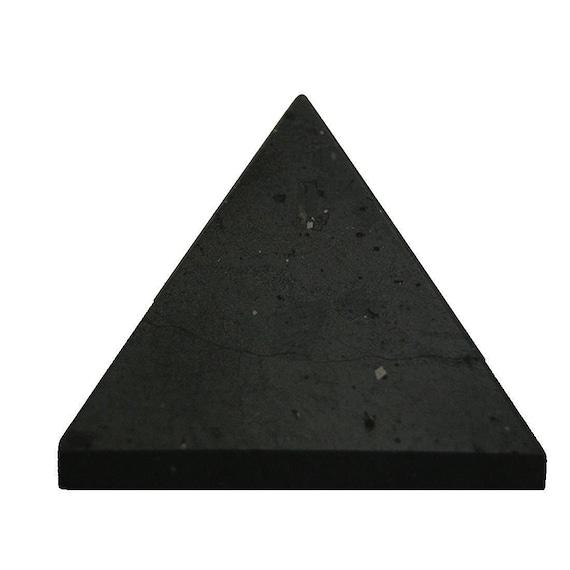 "Black Tourmaline Pyramid Chakra Energy Generator Reiki Approx 1.5-2"" - Spiritual Balancer Energy Generator Healing gemstones Pyramid"