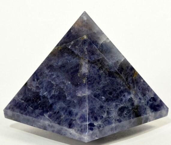 Blue Aventurine Chakra Pyramid, Healing Crystals and Stones, Rose Quartz Clear Quartz Tourmaline Gemstone Pyramid stones pendulum, Reiki