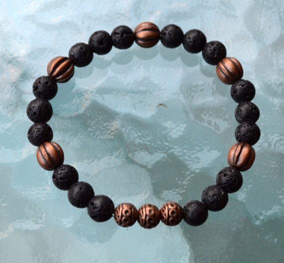 Essential Oil Bracelet, Spiritual Gift, Natural Healing, Healing Bracelet, Diffuser Jewelry, Lava Bracelet, Aromatherapy, Essential Oils
