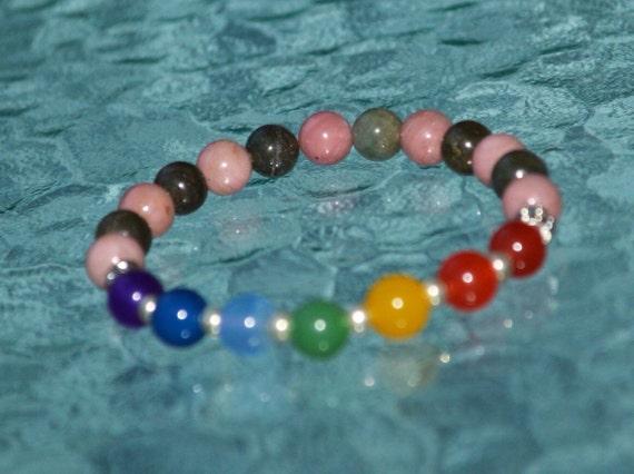 7 Chakra Bracelet Mala Beads Yoga Buddhist Jewelry Balancing & Healing Bracelet - A Perfect Piece of Jewelry
