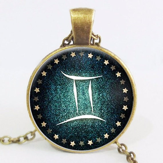 Zodiac Necklace, Zodiac Jewelry, Zodiac Sign, Handmade Jewelry, Coin Pendant, Personalized, Custom Jewelry, Gifts for Her, Birthday Gift