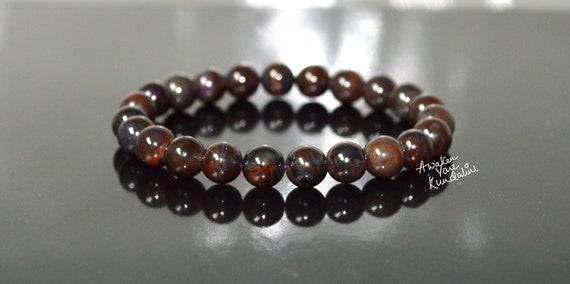 AAA Sugilite Genuine Bracelet ~ 8mm Round Beads