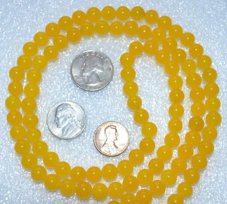 Manifestation Beads For Awakening Chakras Prayer Beads Mala Necklace Yellow Jade for Solar Plexus Chakra Meditation