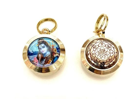 Sri Mahamrityunjya Shiva Shiv  Yantram Amulet Energized yantra kavach High Quality Christmas gifts