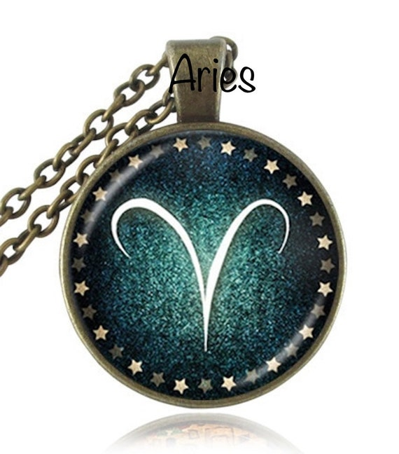 Bronze Zodiac Pendants Necklace, Celestial Jewelry,BIRTHSTONE Pisces,Aries,Taurus,Gemini,Cancer,Leo,Virgo,Libra,Scorpio,Mothers Day Gift ide