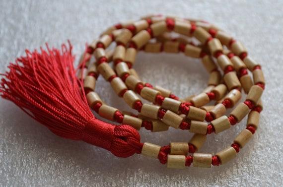 Tulsi necklace natural necklace holy basil necklace spiritual necklace Energized Karma Nirvana Meditation 108 Beads Mala Awakening Chakra