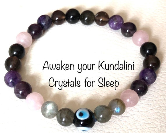 Sleep aid Bracelet || Healing Bracelet for Sleep || Insomnia bracelet  || Sleep Aid mala beads bracelet || Crystal healing bracelet for Slee