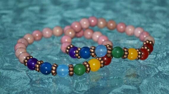 7 Chakra Bracelet Anxiety bracelet Natural Crystal Healing Jewellery Mandala Yoga bracelet Meditation charm  healing crystals yoga jewelry