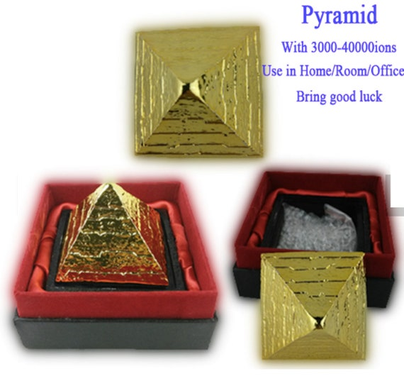Quantum Pyramid Positive Energy Generator pyramid Quantum Science Negative Ion Insomnia, promotes blood circulation, rejuvenation | 55x55 mm