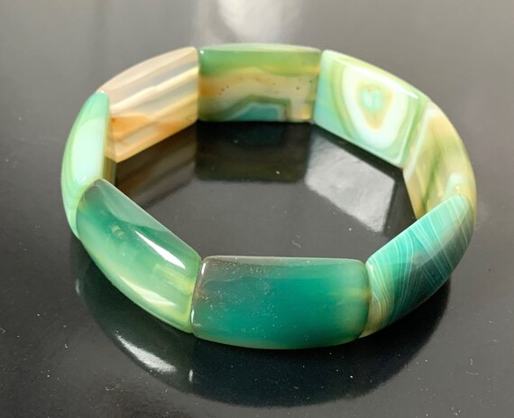 Genuine Jade Bangle - Green Nephrite, Wedding Bracelet For Love, Protects Against Misfortune, Creativity Christmas gifts