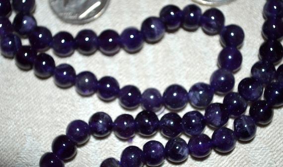 Amethyst Mala Beads Healing Jewelry Buddhist Prayer Bead Meditation Mala 108 Mantra Beads - Powerful Healer, Crown Chakra, Focuses energy