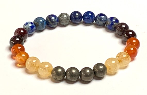 Crystals for Motivation and Self Belief Bracelet motivation crystal healing crystals chakra stones meditation gemstone beaded yoga wish