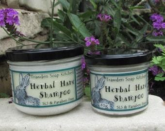 Herbal Hare Original Shampoo, Vegan Hair Care, Rosemary, Fennel & tangerine shampoo, Organic coconut and walnut oil for condition