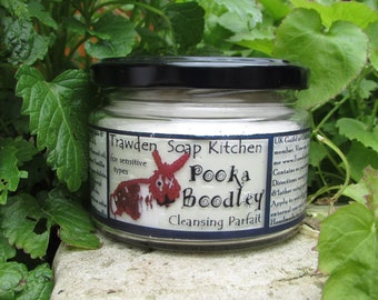 Pooka Boodley, Cleansing Parfait, designed for  Sensitive Skin, Madagascan vanilla,  honey, almond oil, gentle cleanser for face & body